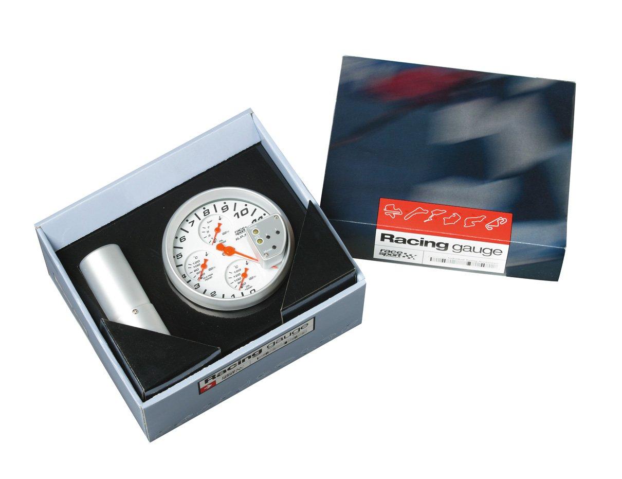 12V Conjunto MedidoresRace Sport 5 4 En 1 Sumex Gaug750