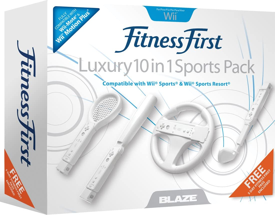 Mel B: Fitness First - 10 in 1 Luxury Sports Pack (Wii) [Importación inglesa]: Amazon.es: Videojuegos