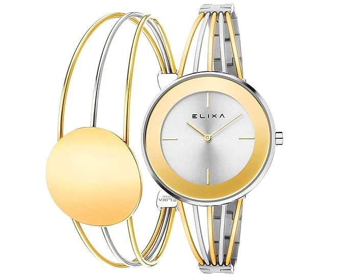 Reloj Elixa Finesse 36mm en Acero Bicolor con Pulsera a ...
