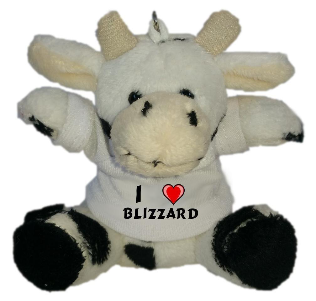 Shopzeus Vaca de Peluche (Llavero) con Amo Blizzard en la ...