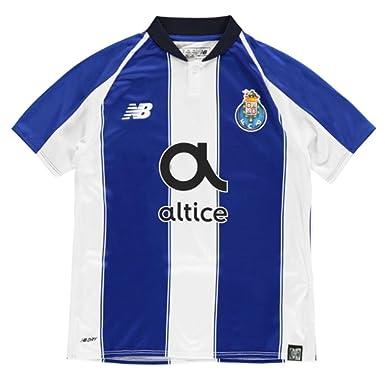 Amazon.com  New Balance 2018-2019 FC Porto Home Football Soccer T-Shirt  Jersey (Kids)  Clothing ca870845257d9