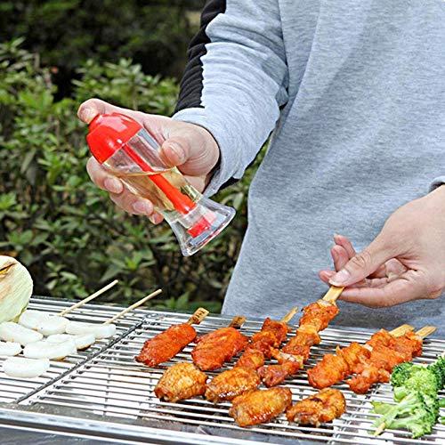 Huyenkute Kitchen Pump Spray Bottle Oil Sprayer Oiler Pot BBQ Cooking Cookware Barbecue Tool