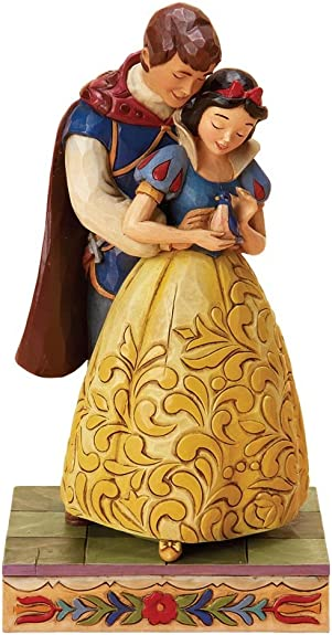 Enesco Disney Traditions by Jim Shore 4015341 Snow White and Prince Dancing Figurine 6-Inch