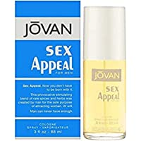 Sex Appeal by Jovan Perfume for Men - Eau de Cologne, 88 ml