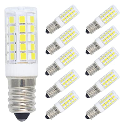 10 Pack E14 LED Light Bulb 5W Ampoule LED 44 SMD 2835 LEDs Faible Consommation 400LM Blanc Froid 6000K Lampe Bulb AC 220-240V