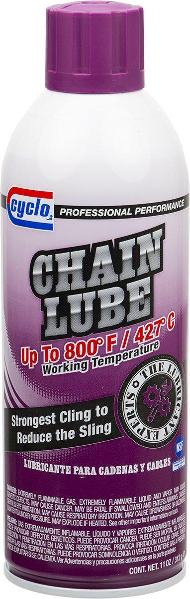 Niteo Cyclo C661 Chain Lube Penetrant, Aerosol Spray, 11 fl oz, Case of 6