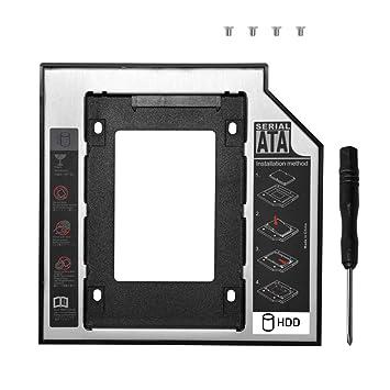 DEEPFOX - Soporte Universal para Disco Duro SATA a SATA de 2ª HDD ...
