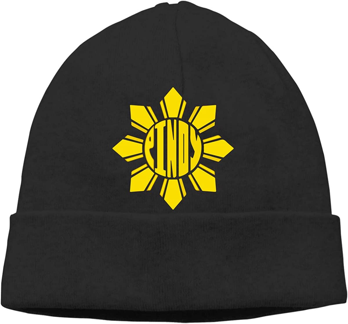 Phillipines Sun Unisex Knitting Wool Warm Winter Ski Beanie Cap