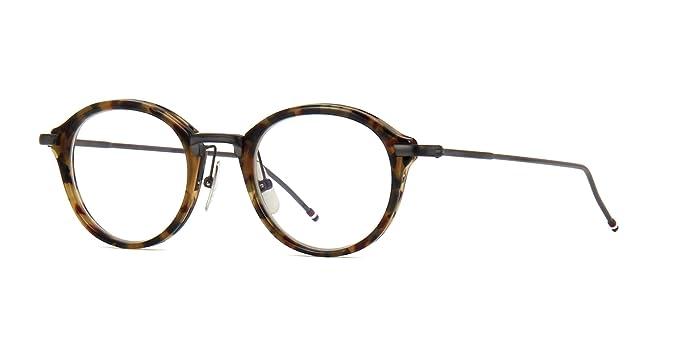 02486b92750 Eyeglasses THOM BROWNE TB 011 B Tokyo TortoiseBlack Iron  Amazon.co.uk   Clothing