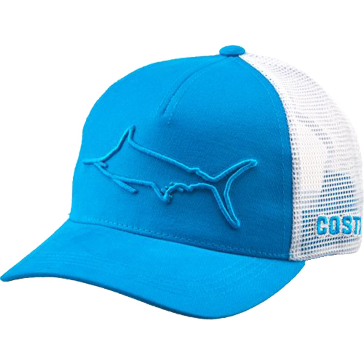 0d866956cc8af ... coupon amazon costa del mar stealth marlin trucker hat costa blue one  size fits all sports ...