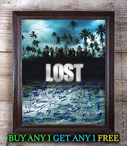 Lost Tv Show Cast Autographed Signed 8x10 Photo Reprint #92 Special Unique Gifts Ideas Him Her Best Friends Birthday Christmas Xmas Valentines Anniversary Fathers Mothers Day