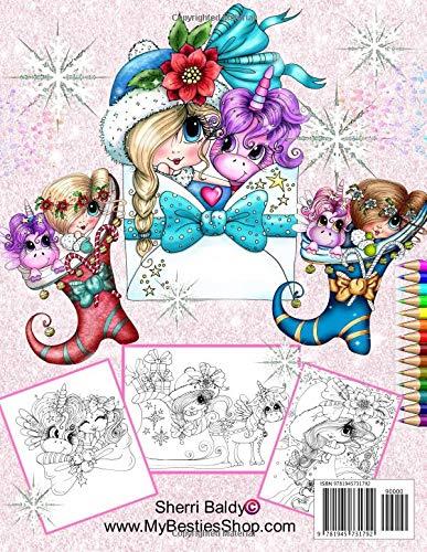 My Besties Fantastical Winter Coloring Book Artist Sherri Baldy