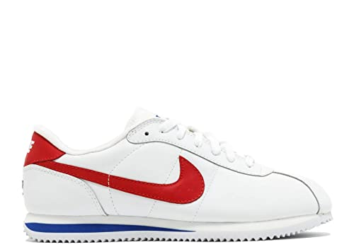 606a70d0d185a5 Nike Cortez Anniversary Men s Trainers leather White Red Royal Blue ...