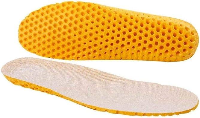 LJQLXJStretch Desodorante transpirable Cojín de running Sudor transpirable Plantillas de hombres y mujeres para zapatillas de deporte Memory Foam, 36: Amazon.es: Zapatos y complementos