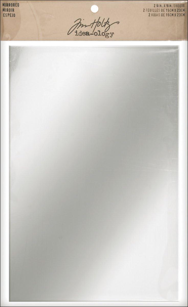 Advantus Idea-Ology adesivo Backed specchiato fogli 6