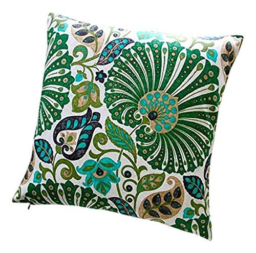 Artisan almohadas interior Bankura en esmeralda verde diseño ...
