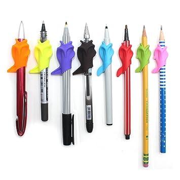 Firesara Pencil Grip, Ergonomic Silicone Wide Fat Pencil ...