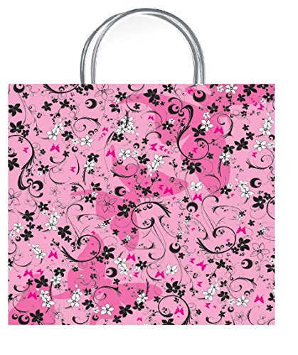 Tag With Chic Dahlia Pink Bag Gift Gift Medium One Vibrant HXq0Uw