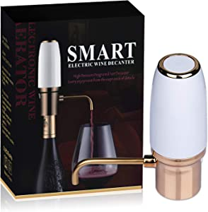 Electric Wine Dispenser Electric Wine Aerator Smart Electric Decanter Automatic Wine Pump and Wine Pourer for Red White Wine