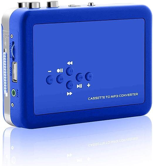 Vintage Auto Reverse Portable Audio Tape Walkman with Earphones ...