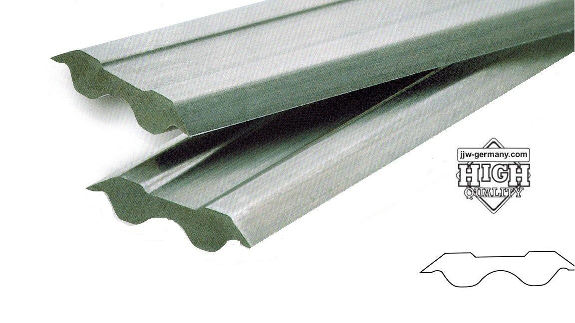 HPS-Wendehobelmesser 410 x 10 x 2, 3 mm fü r Tersa System Hobelmesserkopf jjw-germany.com
