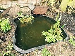 Rainworth Preformed Starter Garden Pond 77cm X 70cm Garden Outdoors