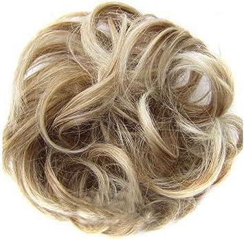 Salissante Faux Chignon Faux Cheveux Boucles Facile A Porter A 01 Amazon Fr Beaute Et Parfum