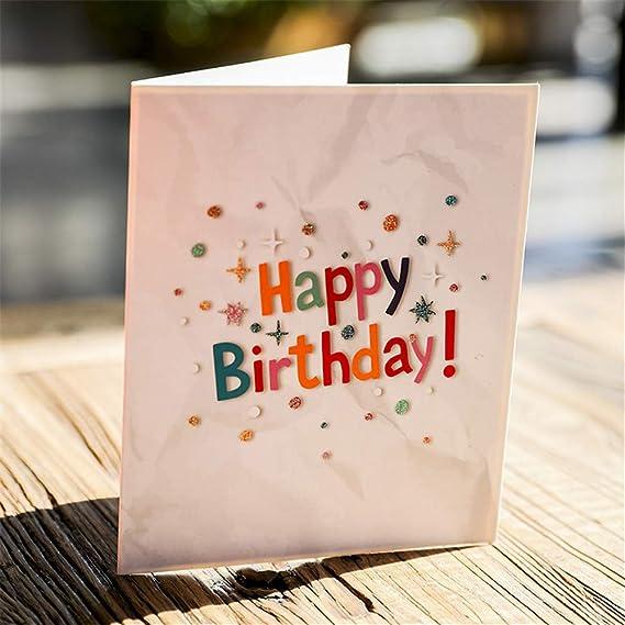 Día de la Madre Gracias Regalo Regalo romántico 3D Popup Tarjetas de felicitación Carrusel Feliz cumpleaños WOZOW: Amazon.es: Juguetes y juegos