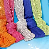 BEE Microfibre Cold Towel Ice Cooling Towels Advanced Sweat-Absorbent Towel Cool Towel Chill Pad For Instant Cool Relief for Sunstroke Gym Beach Cycling Jogging Golf Running Hiking Towels