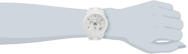 89363151eee8 Amazon.com  Michael Kors Ceramic White Watch MK5161  Michael Kors  Watches