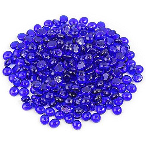 Gemnique Mini Glass Gems - Sapphire Blue (48 oz.)