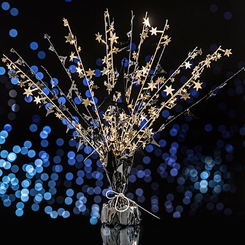 Paris France Eiffel Tower Sparkle Centerpiece Party Supplies -