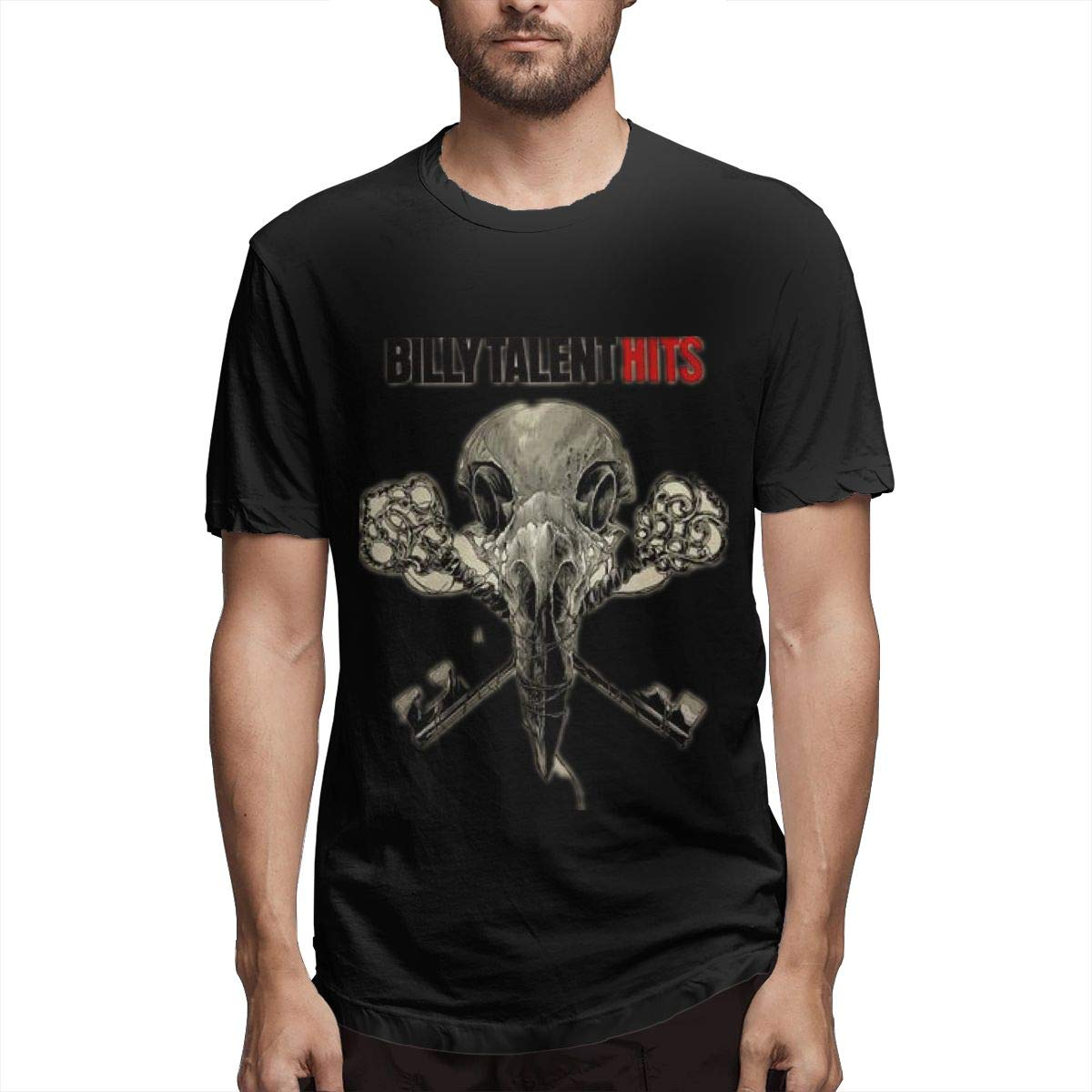 Lihehen S Billy Talent Logo Round Neck Shirt