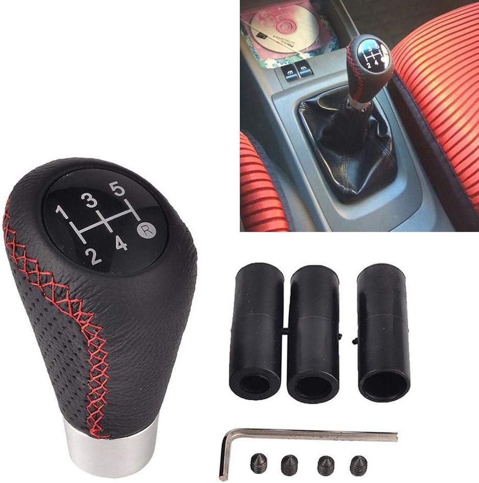 Mementoy Auto Schaltknauf Schalthebel Gangschaltung Schaltknüppel Universal 5 Gang Schaltknäufe Mit 3 Adaptern 8mm 10mm 12mm Usefulness Auto