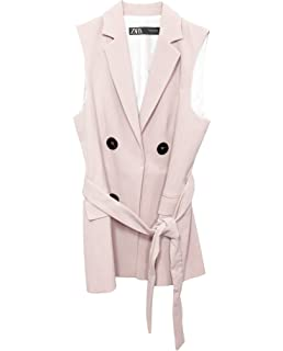 f216929b Zara Women's Blazer with Lapel 2122/583: Amazon.co.uk: Clothing