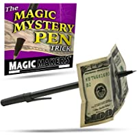 Magic Makers Mystery Trick Pen - Pen Through Dollar Magic Trick Effect Prop Toy