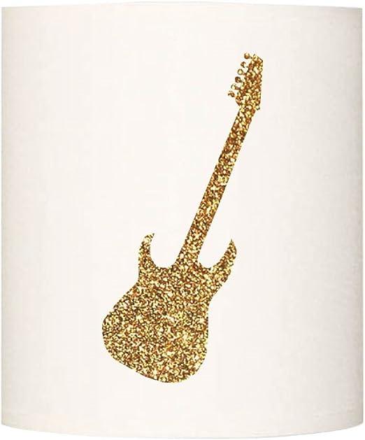 Lilipouce Aplica Guitarra Escarcha, cartón, Dorado, 30 cm: Amazon.es: Hogar
