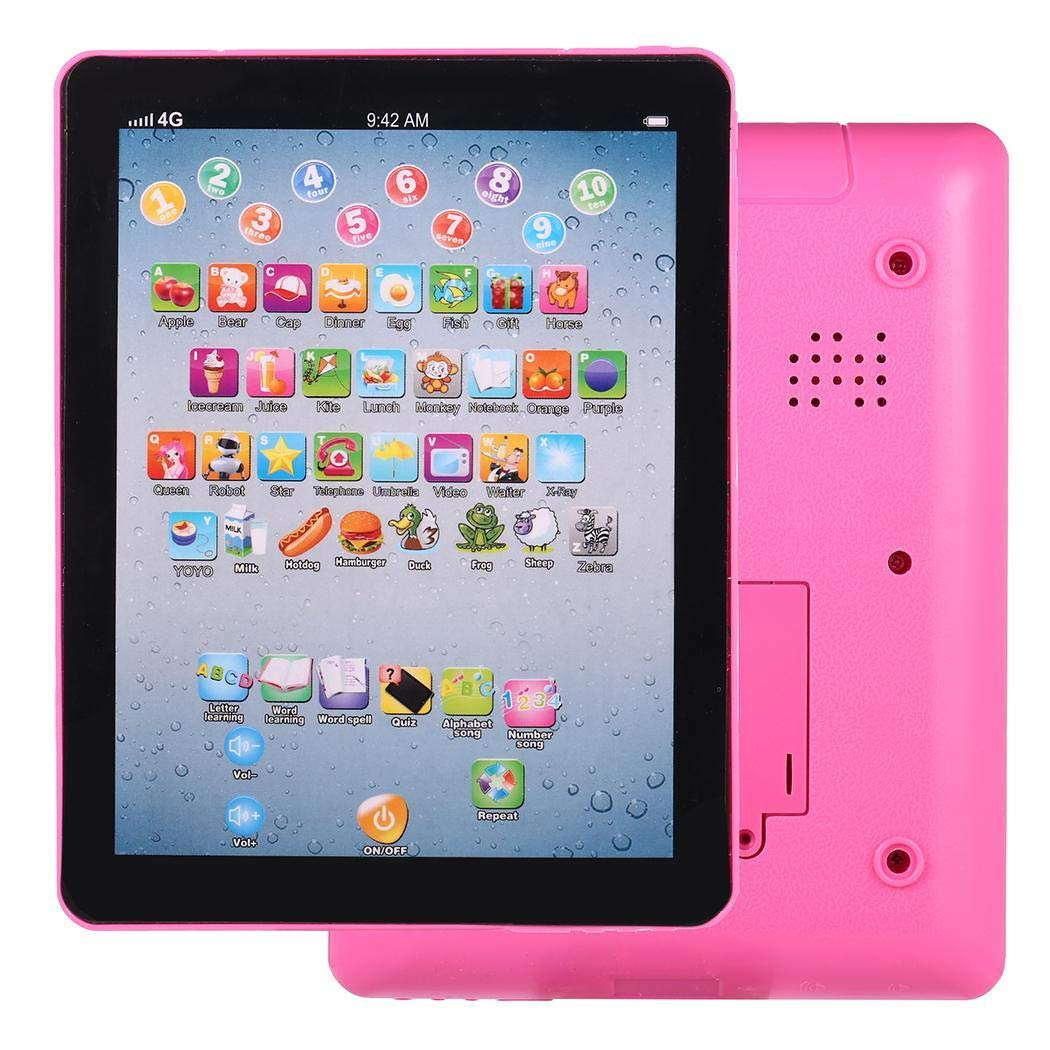 Etuoji Kids Pad Toy Pad Computer Tablet Education Learning Education Machine Touch Screen Tab Electronic Systems by Etuoji (Image #4)