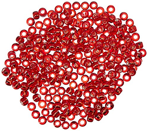 Mill Hill Antique Glass Seed Beads 2.63 Grams/Pkg-Rich Red