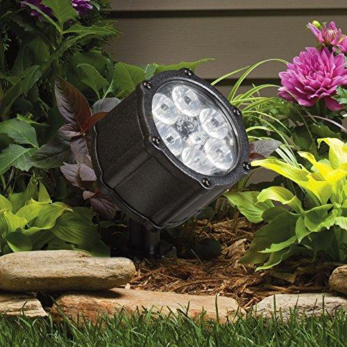 "Kichler Landscape Black 3 1/2"" High LED Spotlight"