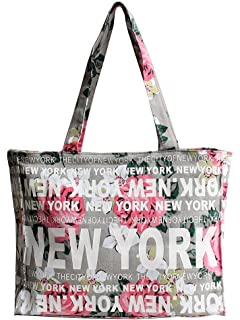 24f2ed12854f6 Amazon.com  Robin Ruth New York City Cotton Fabric Shoulder Hobo Bag ...