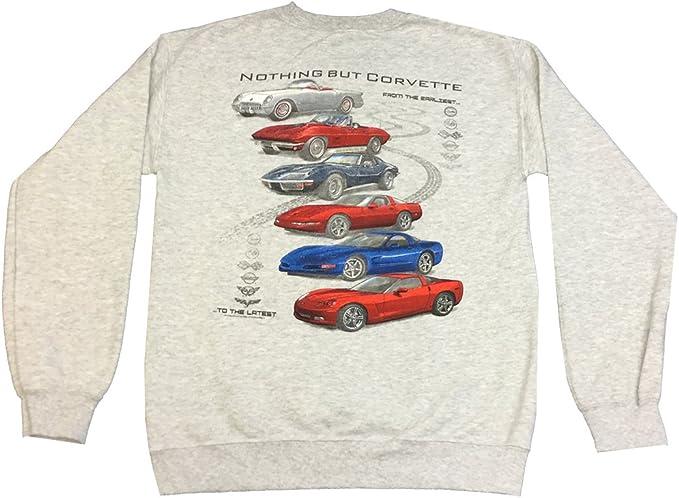 Chevrolet Corvette Modern Emblem Adult T-Shirt