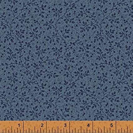 Amazon Windham Storybook Blue 108 Wide Quilt Backing Fabric By