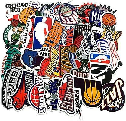yunkanda 30Pc/Lote Marca De Baloncesto NBA Logo Pegatinas para ...