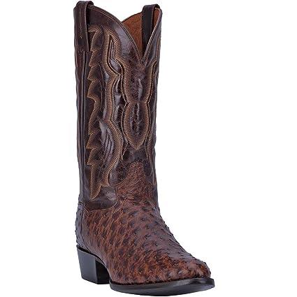 e69e9d4e3bf Amazon.com: Dan Post Western Boots Mens Pershing Leather Ostrich ...