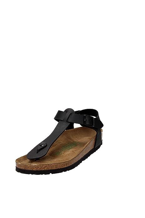 Birkenstock Kairo Sandalo Unisex Nero 46  Amazon.it  Scarpe e borse 526cac14391