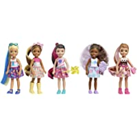 Barbie Color Reveal Chelsea Doll with 6 Surprises: Water Reveals Doll's Look and Creates Color Change on Leotard Graphic…