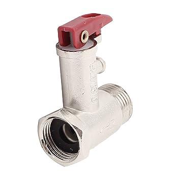 Eléctrico Calentador De Agua 1/2BSP 0.9Mpa 2 formas Seguridad Válvula De Alivio De