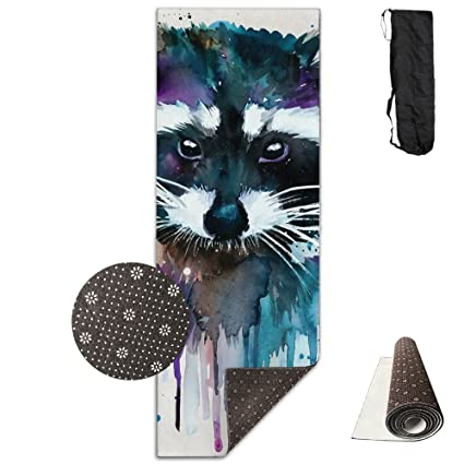 Amazon.com: Unisex Lovable Raccoon Graffiti Art Custom ...