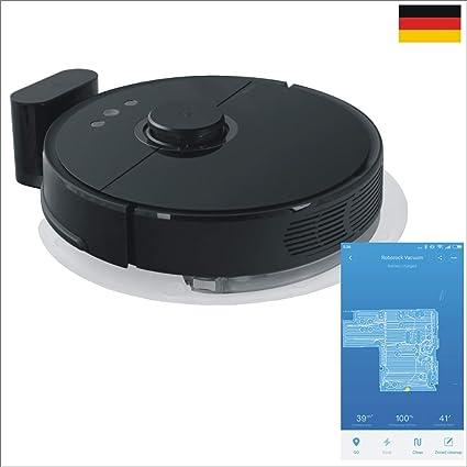 ZINNZ SELECTED # 3 años de garantía # Xiaomi Robot Aspirador 2. TE Generación EU Version Robo Rock S55 Negro con función limpiadora App Control Negro Negro: Amazon.es: Informática